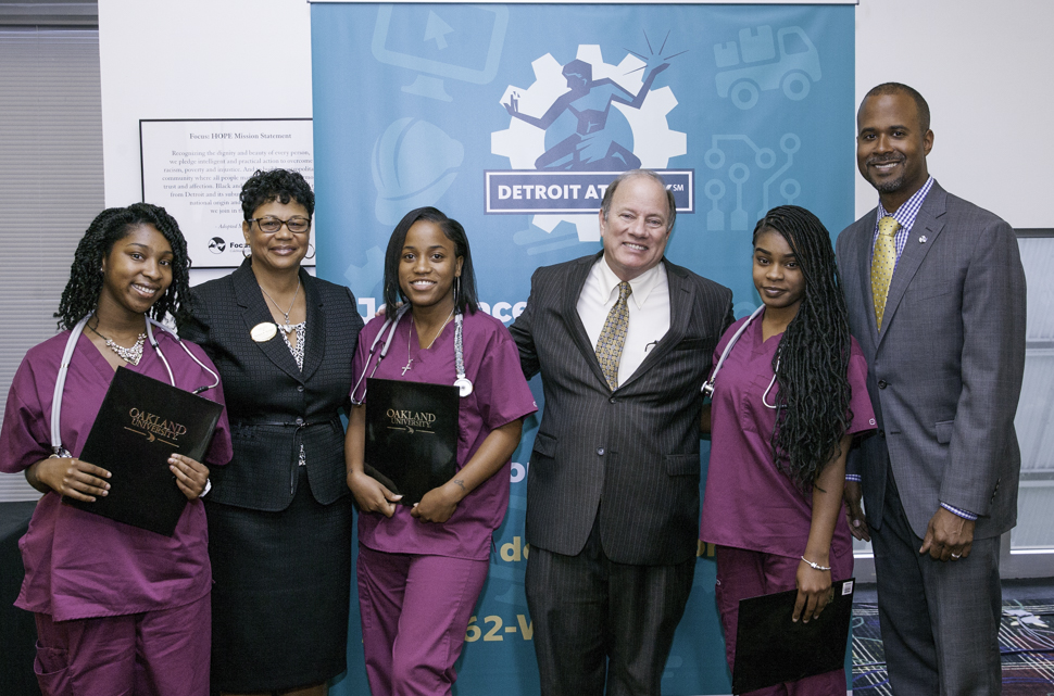 First Detroiters trained under Detroit at Work healthcare program graduate, start to receive job offers